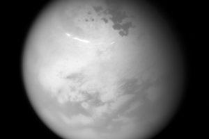 Ученые объяснили происхождение колец вокруг озер на Титане
