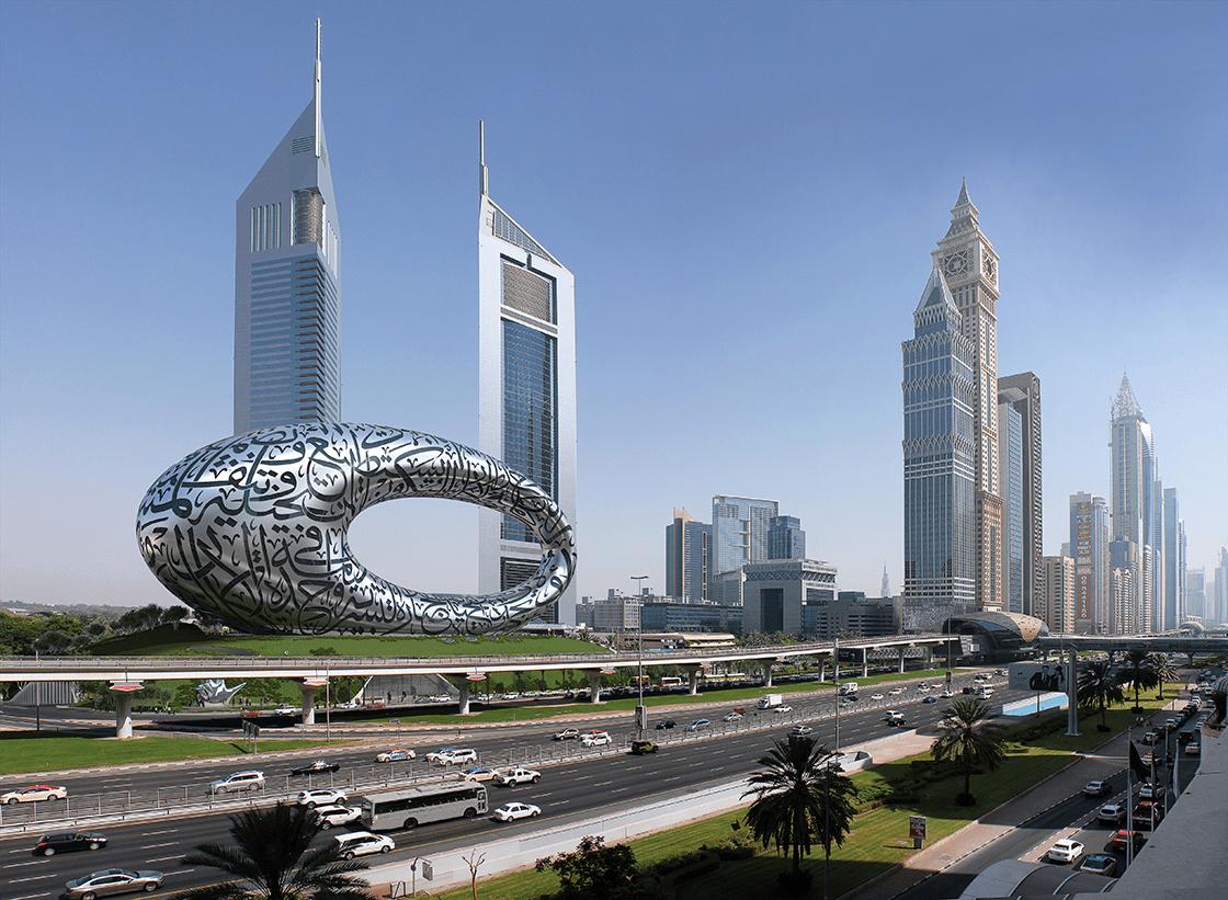Музей будущего в Дубае сделают похожим на гигантский глаз