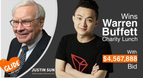 Обед с Уорреном Баффеттом за $ 4,5 млн купил его оппонент, чтобы поболтать о биткойнах