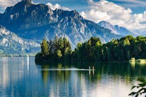 Необычное немецкое озеро, исчезающее каждую зиму