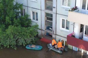 Наводнение в России: вода поднялась на два этажа
