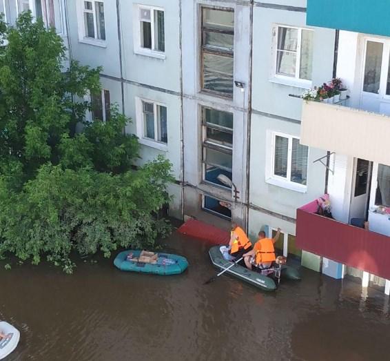 Наводнение в России: вода поднялась на два этажа.Вокруг Света. Украина