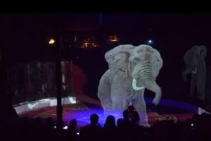 В Германии животных в цирке заменили голограммами