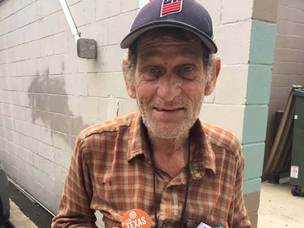 67-летний бывший бомж из Техаса поступил в университет.Вокруг Света. Украина