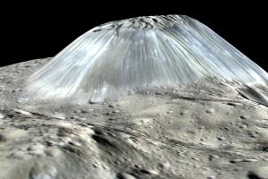 Разгадана тайна одинокой горы на карликовой планете Церера