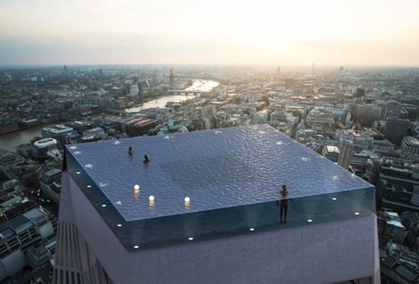 В Лондоне построят пейзажный бассейн с панорамным обзором.Вокруг Света. Украина