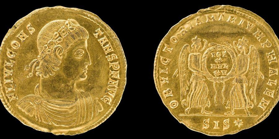 В Германии нашли уникальную золотую монету