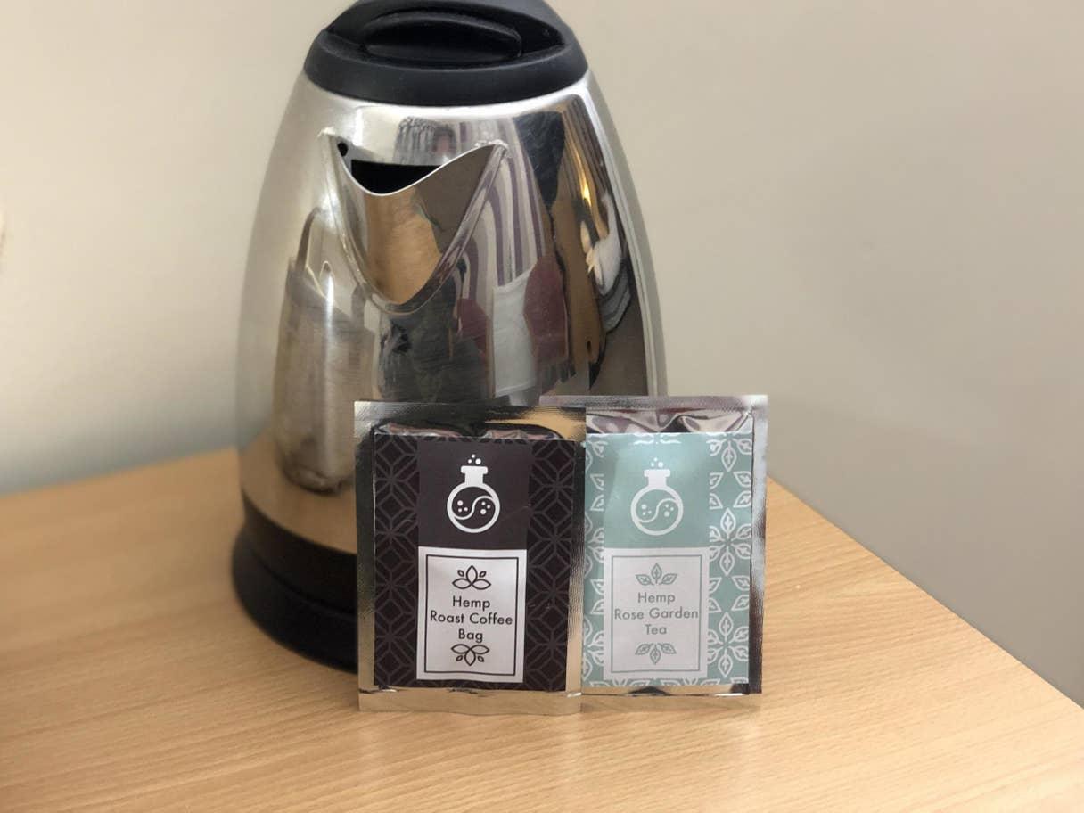 чай с маслом конопли