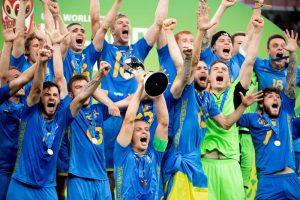 Молодежная сборная Украины по футболу стала чемпионом мира