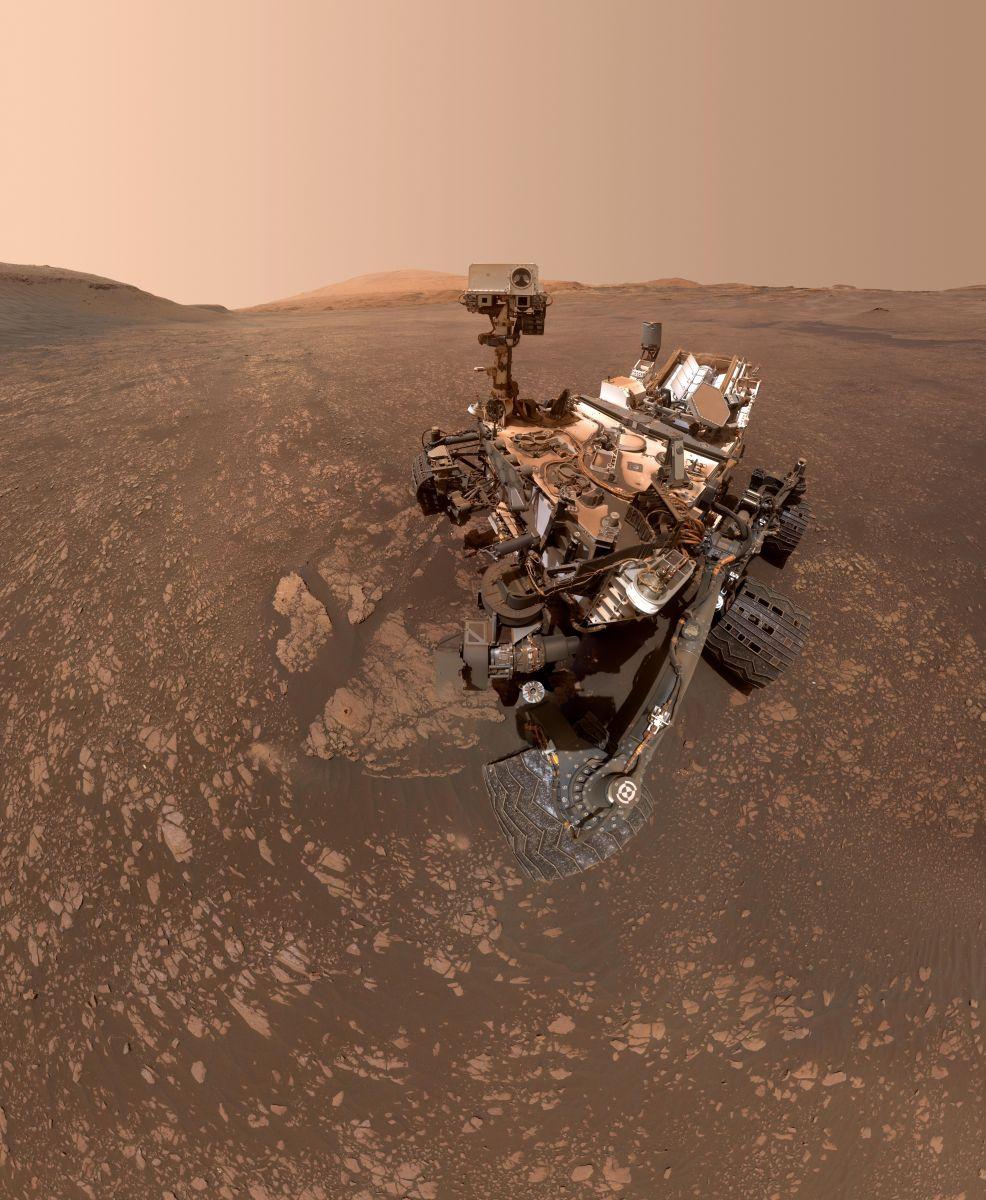На Марсе нашли глину