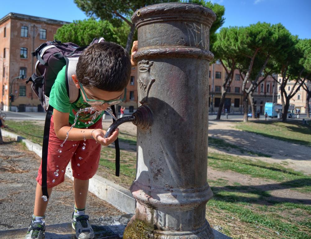 Городской питьевой фонтан
