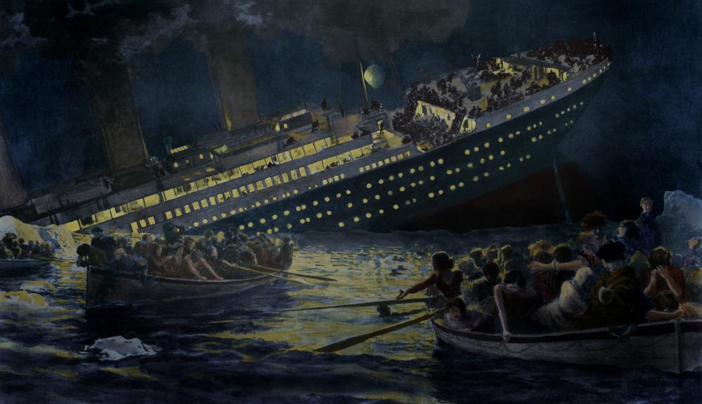 В США продают трость, которая спасла хозяйку на «Титанике»