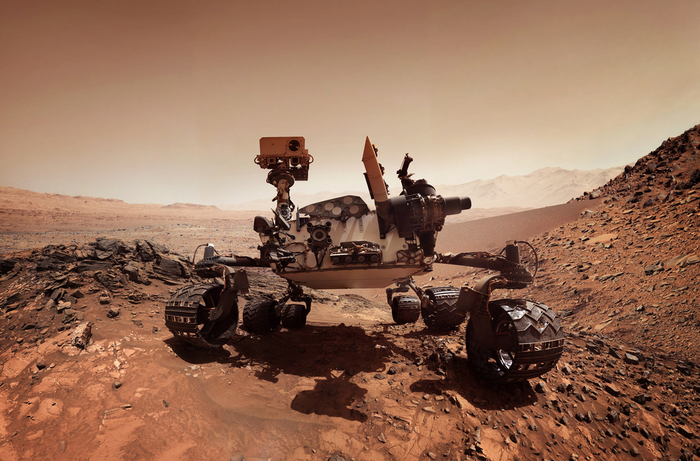 В атмосфере Марса зафиксировали высокое содержание метана