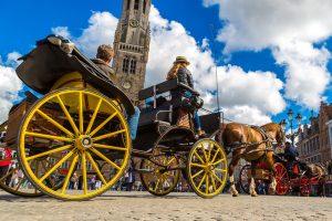 В Брюгге начали борьбу с туристами-«однодневками»