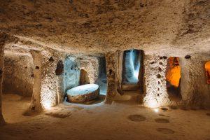 В Турции найден древний подземный город, растянувшийся на километры