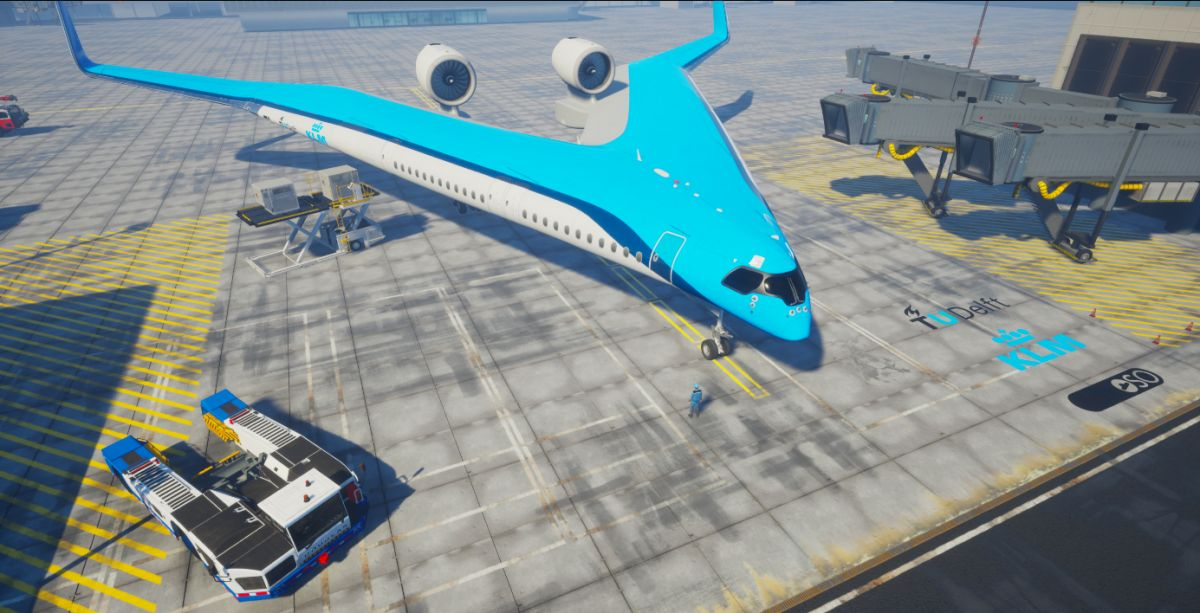 В Нидерландах придумали самолет с салоном в крыльях