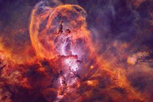 Астрономы сфотографировали туманность в виде Статуи Свободы