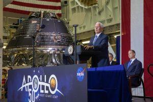 NASA собрало космический корабль Orion для лунной миссии
