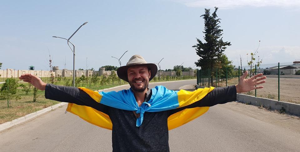 Украинский путешественник вышел из иранской тюрьмы