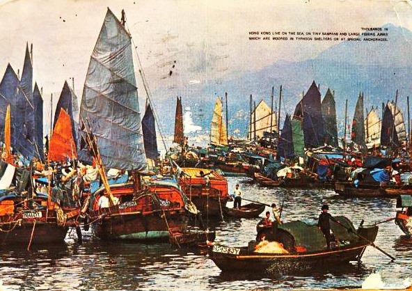 В Иллинойс из Гонконга пришла открытка, отправленная 26 лет назад.Вокруг Света. Украина