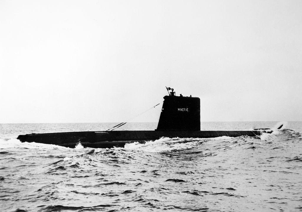 Обнаружена французская субмарина, пропавшая 50 лет назад