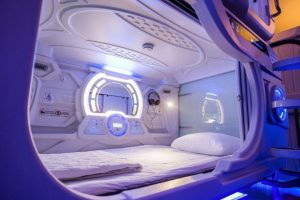 В Киеве откроют сеть футуристичных отелей