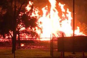 В Кентукки сгорели семь миллионов литров виски