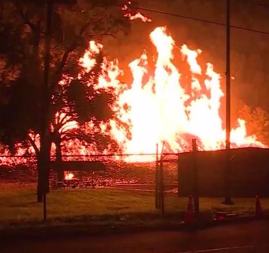 В Кентукки сгорели семь миллионов литров виски.Вокруг Света. Украина