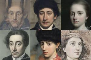 Появился сайт, который превращает селфи в классические портреты