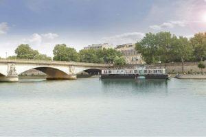 В Париже открылся первый в мире плавучий центр уличного искусства