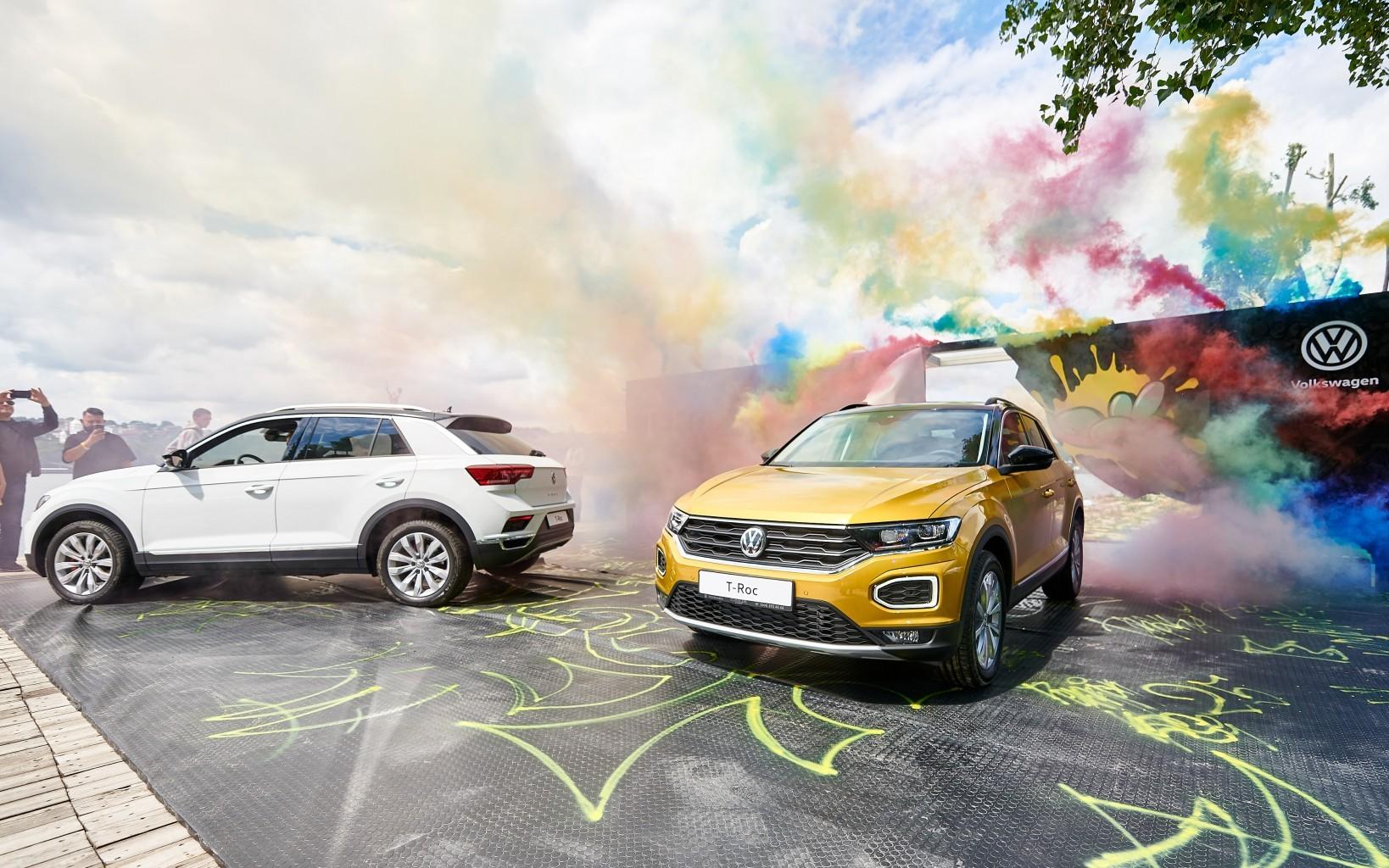 Відбулася офіційна національна презентація кросовера Volkswagen T-Roс