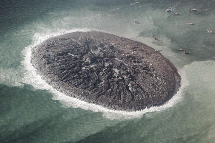 Океан поглотил остров у побережья Пакистана