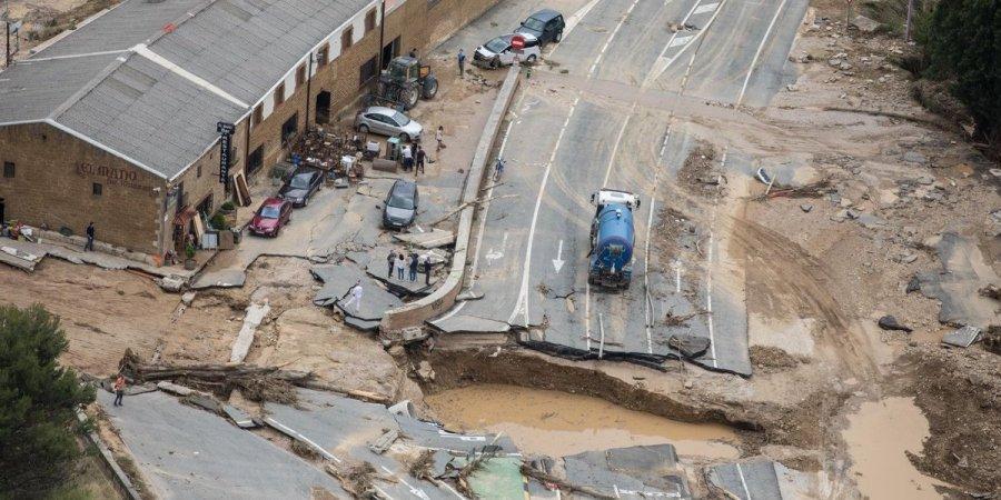Наводнение в Испании: один человек погиб