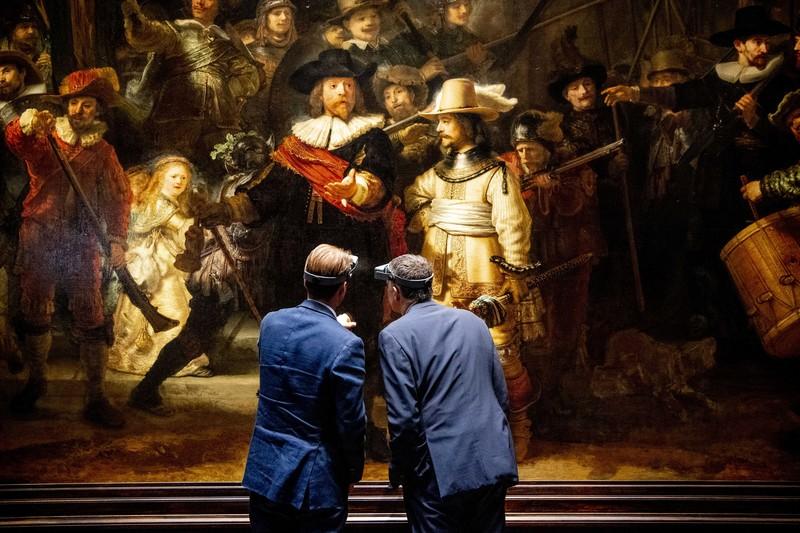 В Нидерландах публично отреставрируют картину  Рембрандта