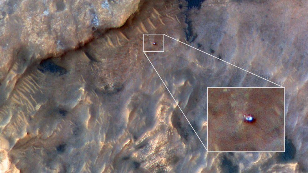 NASA доказало, что Curiosity существует