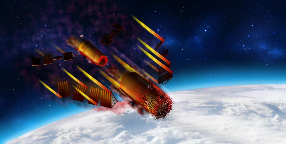 Китайская космическая станция Тяньгун-2 ушла с орбиты