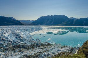 Европейская тепловая волна движется к Гренландии
