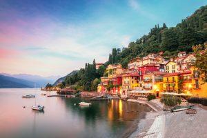 Озеро Комо в Италии называют самым гламурным в мире