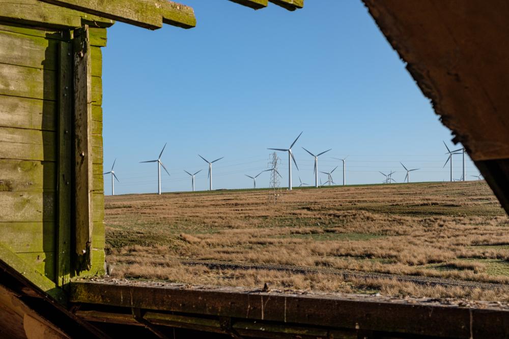Шотландских ветряков хватит на две страны