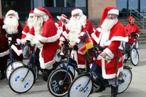 В Копенгагене проходит Всемирный конгресс Санта-Клаусов