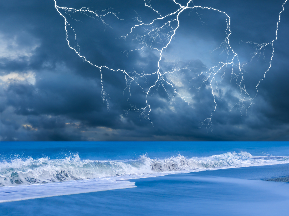 Во Флориде молния поразила восемь человек