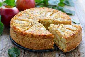 Блюдо сезона: шарлотка из яблок