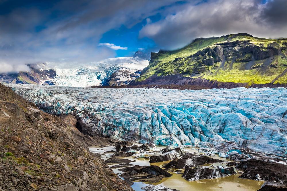 Исландский тающий ледник борется за статус объекта Всемирного наследия