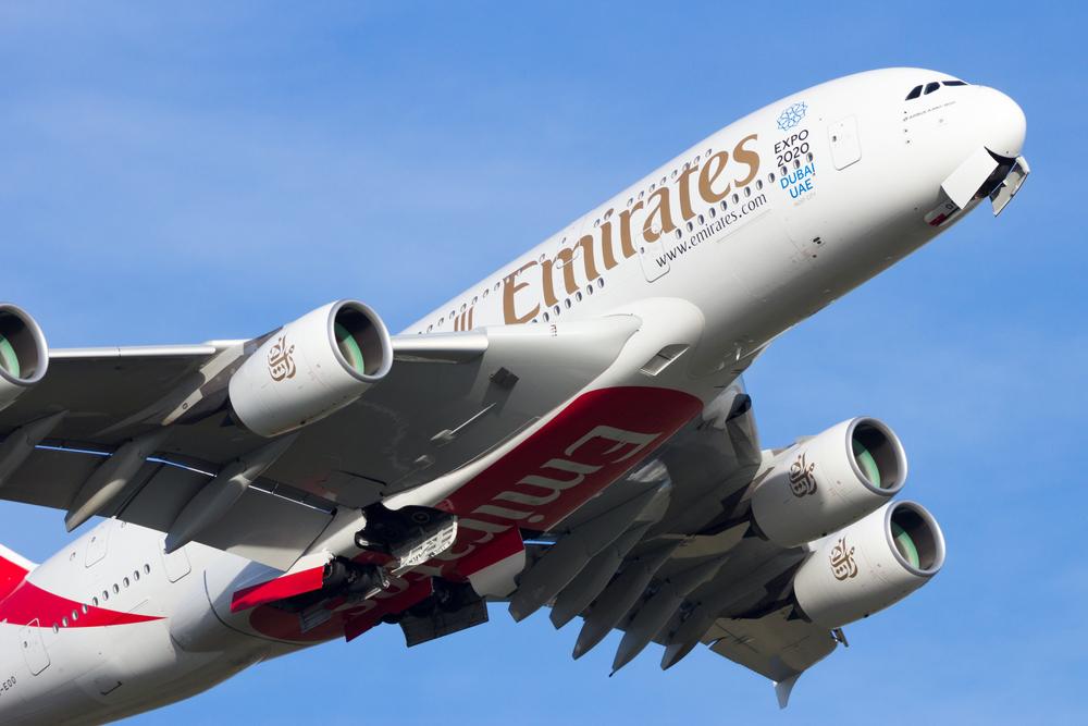 В ОАЭ самый большой самолет в мире поставили на 40-минутный рейс