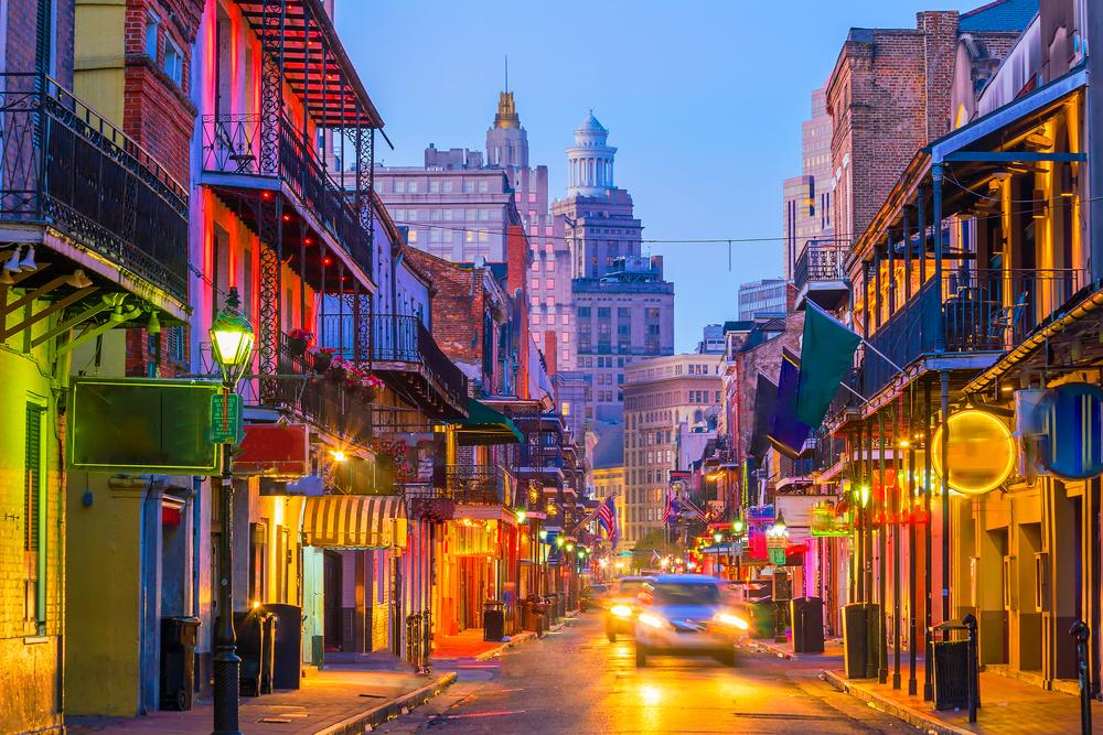В Новом Орлеане стало больше туристов, чем в Венеции