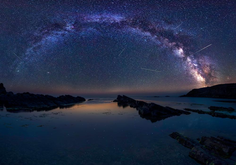 Как сфотографировать падающую звезду