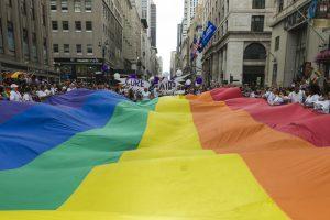 В ЛГБТ-прайде в Нью-Йорке впервые пройдет колонна из Украины