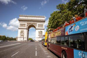 Центр Парижа избавится от туристических автобусов