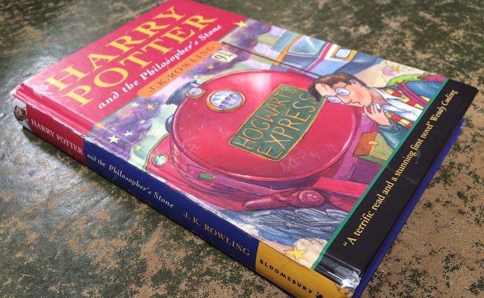 Редкая книга о Гарри Поттере продана на аукционе за £ 28 500.Вокруг Света. Украина