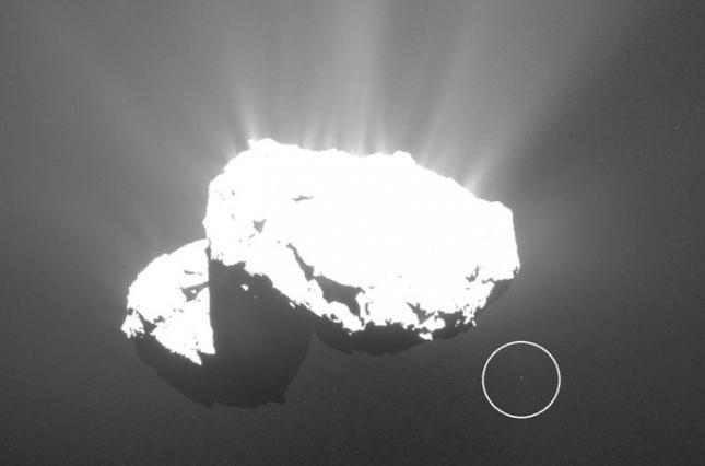 Астроном-любитель заметил спутник у кометы Чурюмова-Герасименко